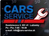 CARS SERVICE s.r.o.  Rastislavova 2, 951 41 Nitra-Lužianky